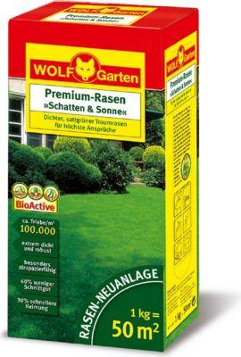 Wolf Garten Premium Rasen  Schatten   Sonne
