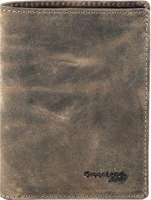 Greenland Stone Geldbörse Leder 9,5 cm