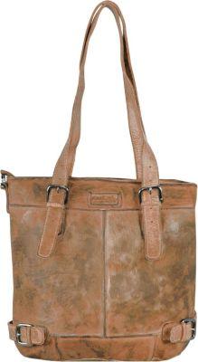 Femi & Nine Color Shopper Tasche Leder 37 cm