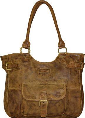 Soft Bags Handtasche Leder 42 cm