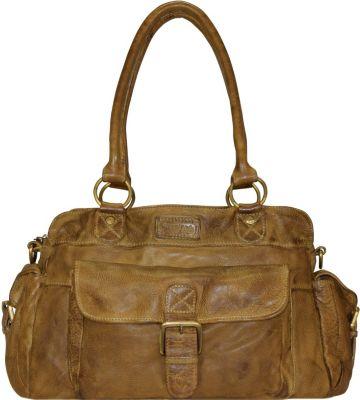 Greenland Soft Bags Handtasche Leder 44 cm
