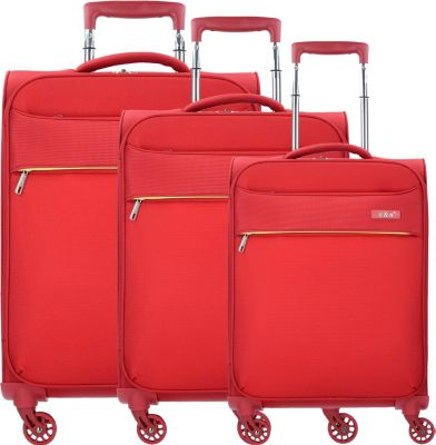 Plus d & n Travel Line 6304 4-Rollen Kofferset 3-tlg.