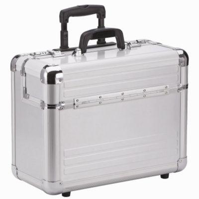 Aluminium Pilotenkoffer Trolley 46,5 cm Laptopfach