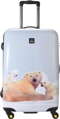 National Geographic Nature of Love Polar Bear 4-Rollen Trolley 68 cm