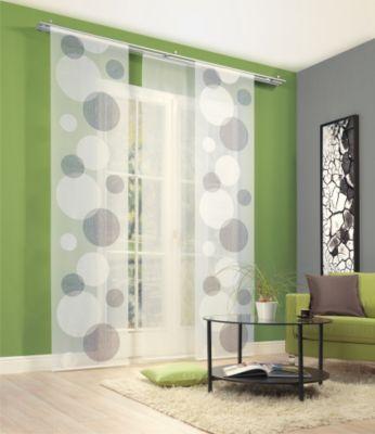 SCHMIDTGARD STOFFE Schiebevorhang Dorit, Scherli 245x60 cm, Kreise