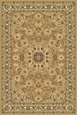Web-Teppich Keshan im klassischen Dessin, berber