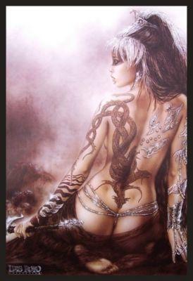 Bild Subversive Beauty 65x94 cm von Luis Royo