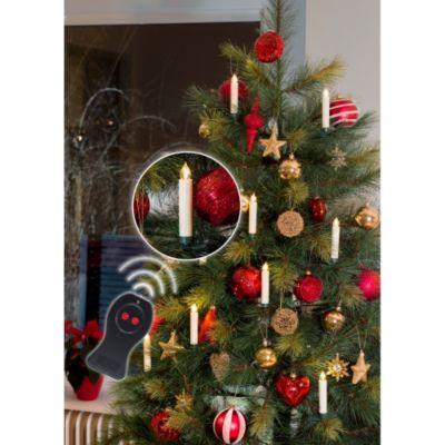 KONSTSMIDE LED Baumbeleuchtung ohne Kabel mit F...