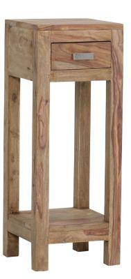 Beistellkonsole aus Massivholz