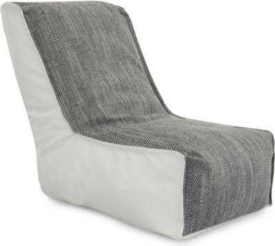 Relax-Sessel Lederimitat/Magma