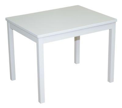 Kindertisch weiß lackiert
