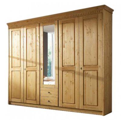 kleiderschrank massivholz preisvergleich die besten. Black Bedroom Furniture Sets. Home Design Ideas