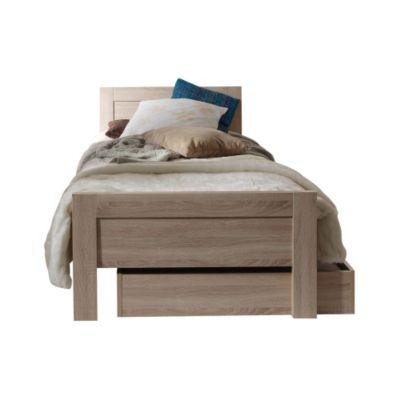 Vipack bett aline inkl nachtkommode und bettschublade for Bett lidl