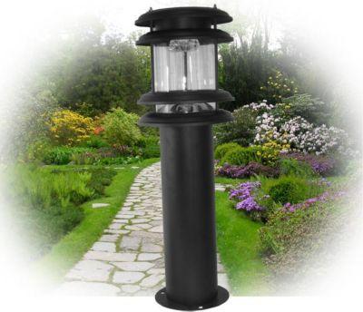 MAUK Solarlampe LED, 60 cm hoch, schwarz