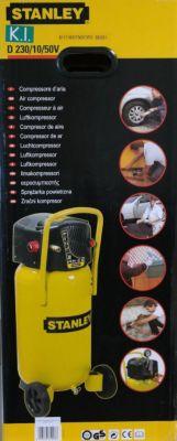 MAUK Stanley Druckluft - Kompressor 50 Liter D230/10/50V