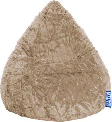 Magma Sitzsack Fluffy L khaki