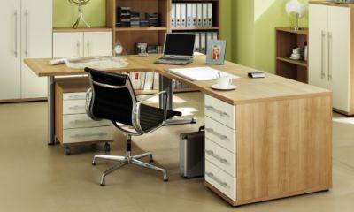 Schreibtischkombination Noce