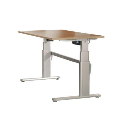 Schreibtisch höhenverstellbar, Ahorn Nachbildung