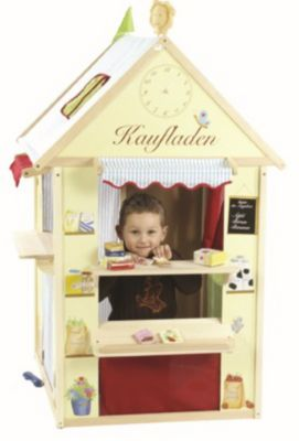 Spielhaus aus Massivholz