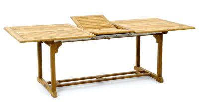 gartentisch amalfi ausziehbar bis 180 cm plus de. Black Bedroom Furniture Sets. Home Design Ideas