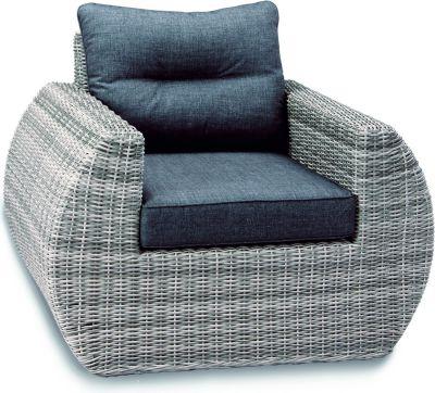 Lounge-Sessel Bombay inkl. Kissen