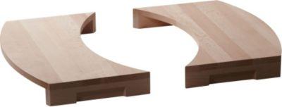 buschbeck BUSCHBECK Auflage , für Grillkamin »Magic« aus Holz, BxT: 47x24 cm
