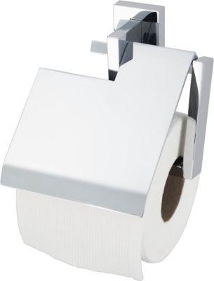 Papierrollenhalter Edge, mit Deckel
