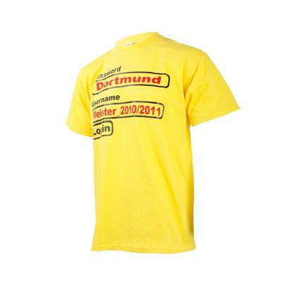 Borussia Dortmund Shirt Username gelb