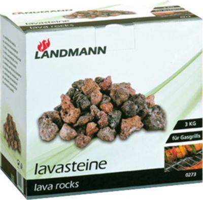 Landmann sonstige Ausstattung Lavasteine 3 KG Karton