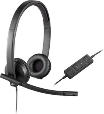 Logitech H570e Binaural Kopfband Schwarz