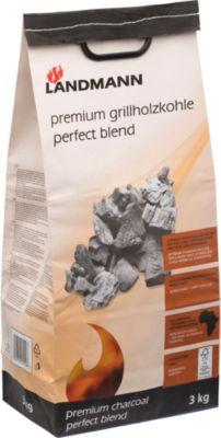 Landmann Holzkohle Premium Grillholzkohle 3kg