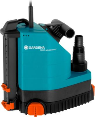 GARDENA Pumpe Comfort Tauchpumpe 9000 aquasensor