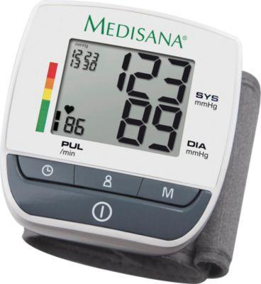Medisana Blutdruckmessgerät Handgelenk-Blutdruckmessgerät BW310