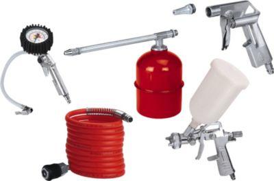 Einhell Druckluft-Werkzeug Druckluftset Profi 5tlg