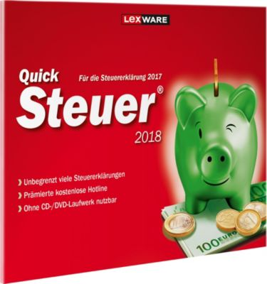 Lexware Software QuickSteuer 2018