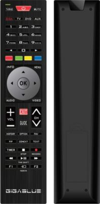 GigaBlue Fernbedienung Remotecontrol Standard V...