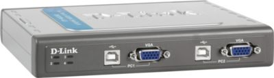 D-Link KVM-Switch DKVM-4U 4Port USB