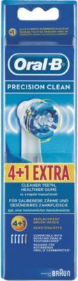 Elektrische Zahnbürste Aufsteckbürste Precision Clean 4er+1