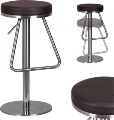 h henverstellbarer barhocker preisvergleich die besten. Black Bedroom Furniture Sets. Home Design Ideas