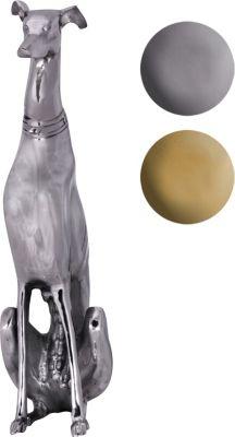 wohnling-dekoration-design-dog-aus-aluminium-silbern-windhund-skulptur-hundestatue