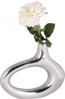 wohnling-deko-vase-klein-omega-s-aluminium-modern-mit-1-offnung-in-silber-niedrige-alu-blumenvase-handgefertigt-kleine-dekovase-fur-blumen