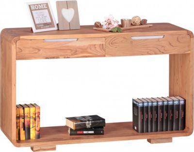 wohnling-wohnling-konsolentisch-massivholz-akazie-konsole-mit-2-schubladen-schreibtisch-119-x-40-cm-landhaus-stil-sideboard