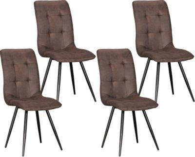 Vintage stuhl preisvergleich die besten angebote online for Stuhl mit metallbeinen
