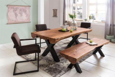 esstisch akazie 180 preisvergleich die besten angebote online kaufen. Black Bedroom Furniture Sets. Home Design Ideas
