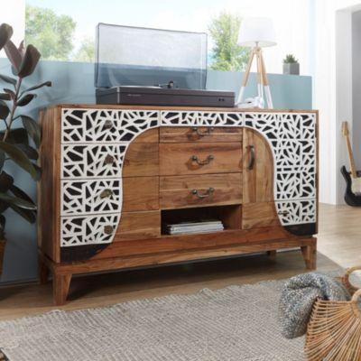 braun kommode preisvergleich die besten angebote online. Black Bedroom Furniture Sets. Home Design Ideas