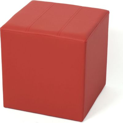 Sitzhocker Paris Sitzwürfel Hocker, Kunstleder, 40x38x38 cm