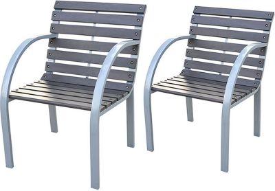 gartenstuhl metall preisvergleich die besten angebote. Black Bedroom Furniture Sets. Home Design Ideas