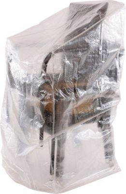 heute wohnen heute-wohnen Abdeckplane für Stapelsessel Abdeckung Plane Stühle Gartenstuhl Hülle Regenschutz 150x66x66