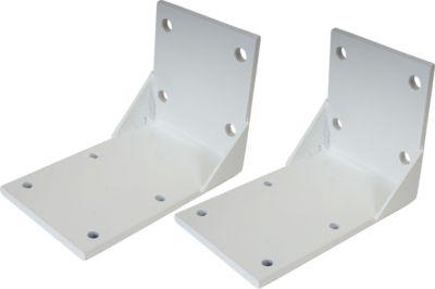 heute wohnen heute-wohnen 2x Deckenadapter für Kassetten-Markise T122 T123, Deckenmontage Halterung Adapter