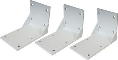 heute wohnen heute-wohnen 3x Deckenadapter für Kassetten-Markise T124, Deckenmontage Halterung Adapter